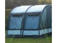 Sunncamp ultimate 260 + double Caravan awning with inner tent BRAND NEW