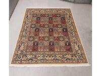 Very Rare Quality Persian Hand Knotted Rug Bakhtiar Carpet Kheshti 200x150 cm
