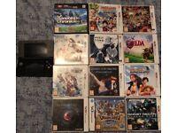 Nintendo 3ds including 14 games