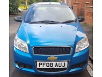 2008 Chevrolet Aveo 1.2S 5dr with 74486 miles