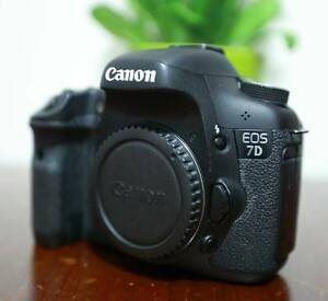 Canon EOS 7D (body only) - perfect camera for action shoot Campsie Canterbury Area Preview