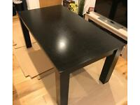 Dining Table (Black Solid Oak Cuba Style)