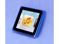 IPOD NANO 6TH GENERATION (SMALL QUALITY, PERFECT FOR THE GYM/TRAINING)