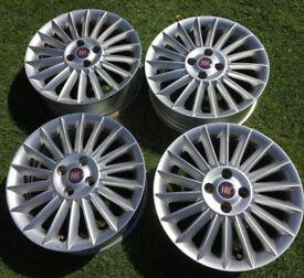 """16"""" Silver Fiat Alloys"""