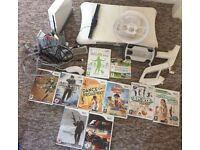 Nintendo wii console games etc