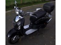 Lexmoto Valencia 50cc Moped, 1 year old, VGC, genuine reason for sale