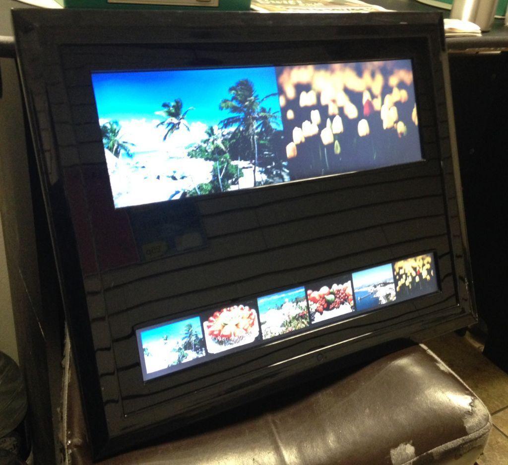 Split screen digital photo/video frame : Plays Photo Slideshow ...
