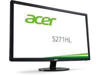 Acer S271HL 27 inch Widescreen Full HD Monitor