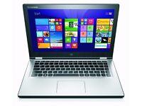 "Lenovo Yoga 2 13"" i5 8Gb RAM 500Gb SSHD Touchscreen Windows 10"