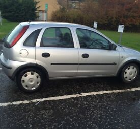 Vauxhall corsa 1l automatic 35000miles 1150 ovno