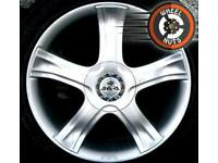 "20"" Antera alloys BMW Range Rover 5x120 excel cond Continental tyres."