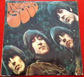 BEATLES - RUBBER SOUL - ORIGINAL MONO LP 1965