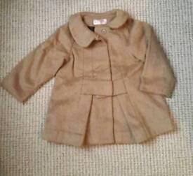 Zara coat 18-24m