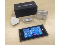 Boxed Black Apple iPhone 5 16GB Factory Unlocked Mobile Phone + Warranty