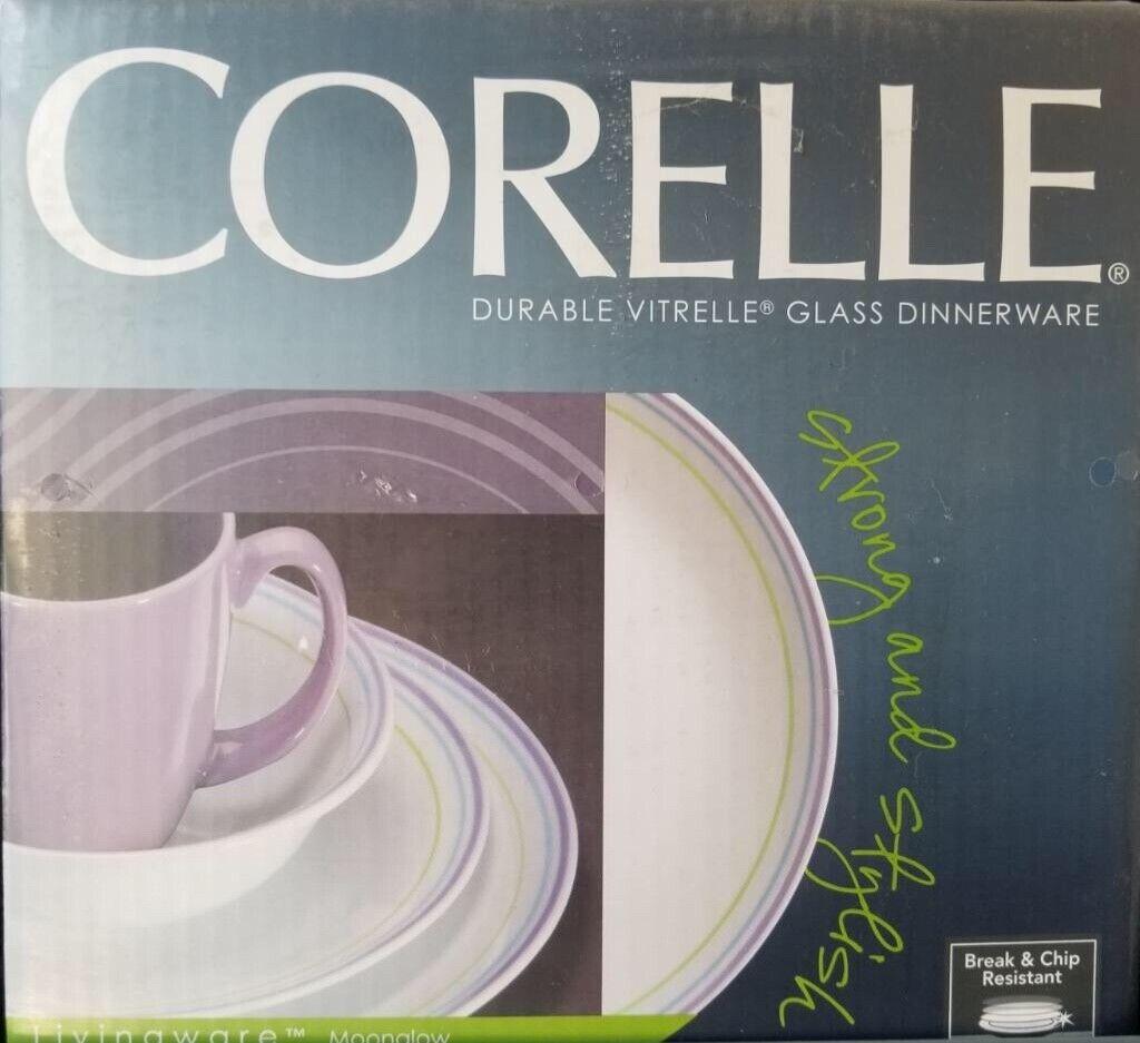 Corelle Moonglow Dinnerware Set-New in Box
