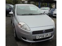 FIAT GRANDE PUNTO DYNAMIC 1368cc 5 DOOR HATCH 2007-56, LOOK ONLY 88K FROM NEW,