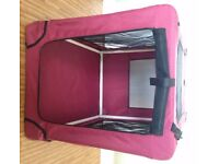 For Sale medium sized Fabric dog crate