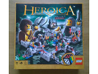 LEGO Heroica Castle Fortaan Set 3860 - VGC / As New - 100% complete, boxed and with all instructions
