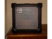 "Roland Cube-15 (Compact guitar amplifier with 15-watt output and 8"" speaker with 3-band EQ)"
