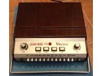 WELSON SUPERMATIC S12 Vintage Analog Italian drum machine VERY RARE
