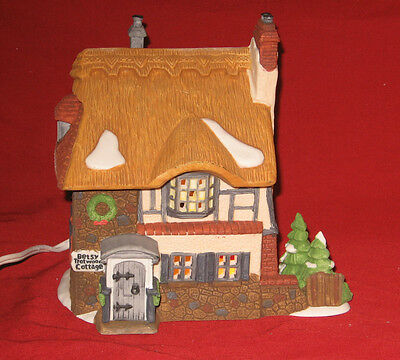 """Department 56 Heritage Village Dickens' Series """"Betsy Trotwood's Cottage"""""""