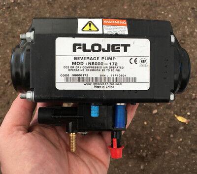 Flojet Pump N5000 Bag-in-box Pump With Dual Brass Shut Off Flojet New