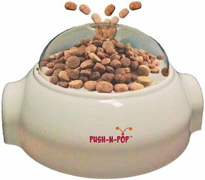 Ethical Pets Push N' Pop - Interactive Slow Feeding Dog Food Dispenser