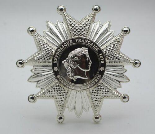 WW1 French Legion of Honour - Breast Star 1870 France Medal Order Badge Replica