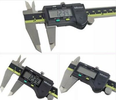 New Mitutoyo Absolute 6 Digital Caliper Brand 500-196-30 In Box