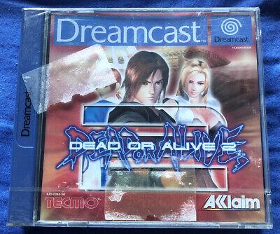 DEAD OR ALIVE 2 Videojuego Sega Dreamcast