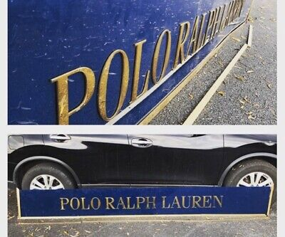 Polo Ralph Lauren Store Display Sign 10 Foot Long! Advertising 3D Lettering Rare