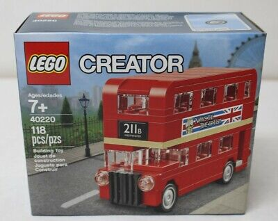 LEGO 40220 Creator Mini London Bus 118pcs New Free Shipping