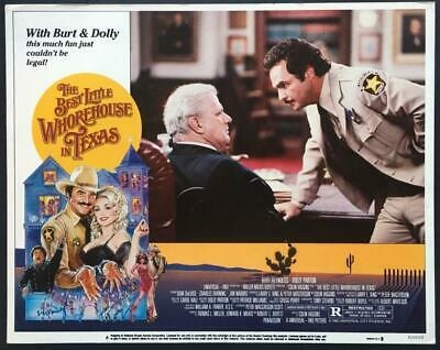 Charles Durning Burt Reynolds Best Little Whorehouse in Texas lobby card
