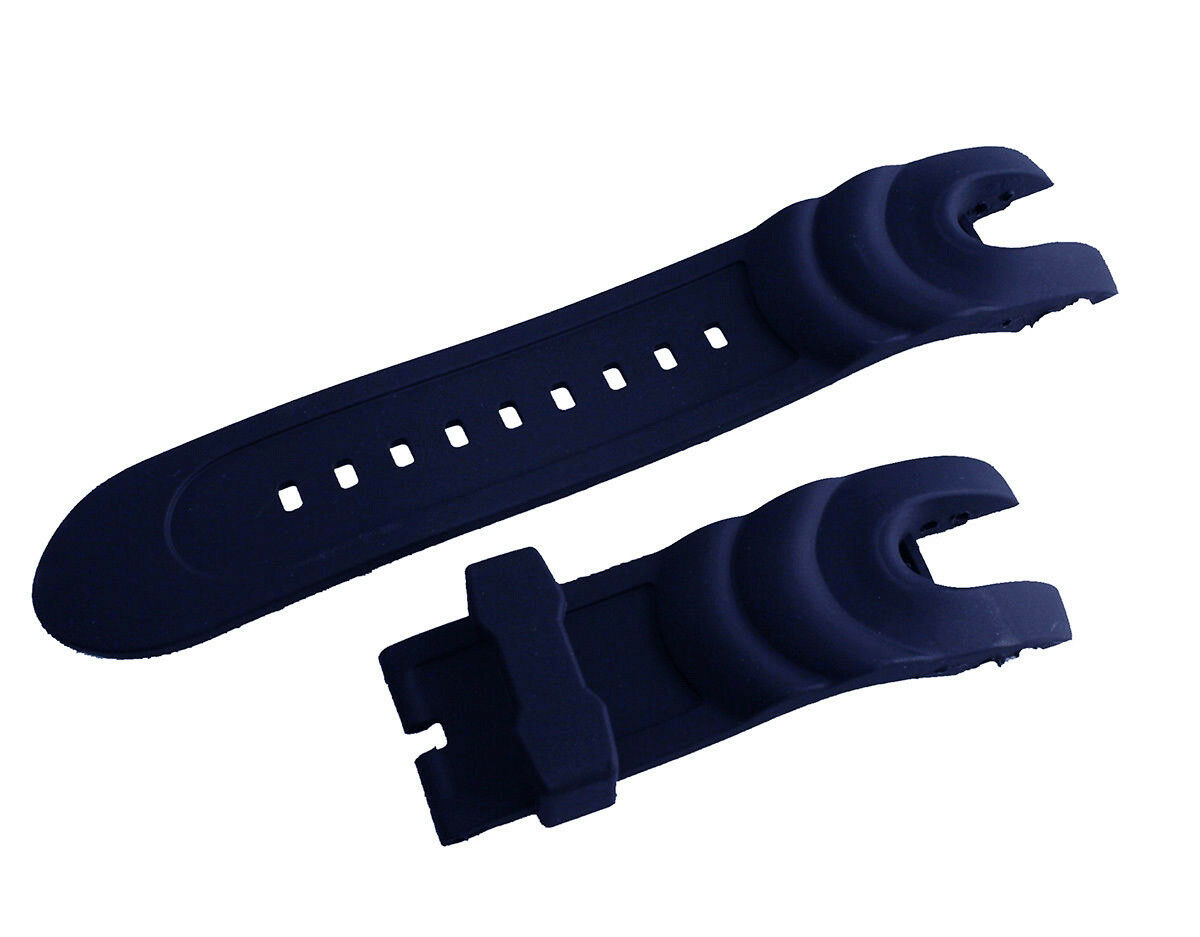 New Blue Rubber Watch Strap Band For Invicta Reserve Collect