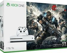 Xbox One S 1TB Console Bundle with Gears of War 4