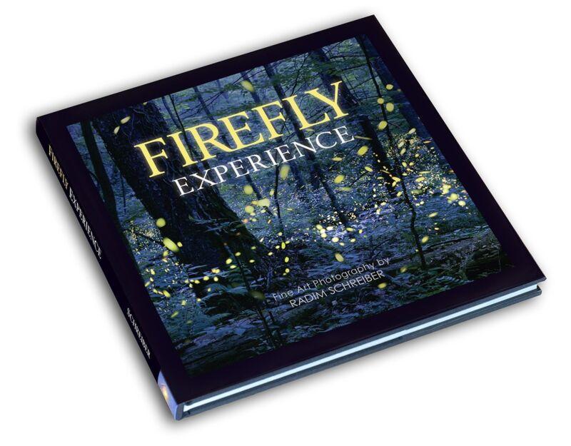 Firefly Experience - Art Photography Book, Photos of Fireflies, Radim Schreiber