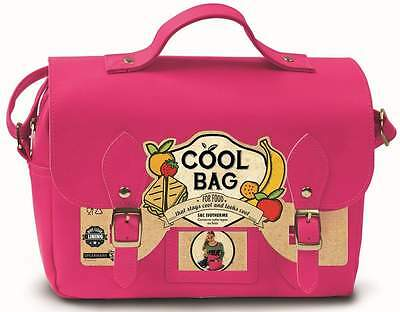 Ladies Hot Pink Insulated Satchel | Lunch Bag