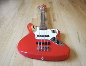Fender Hot Rod Red Jaguar Bass