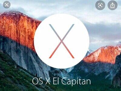 OSX 10.11 El Capitan Apple Mac Download