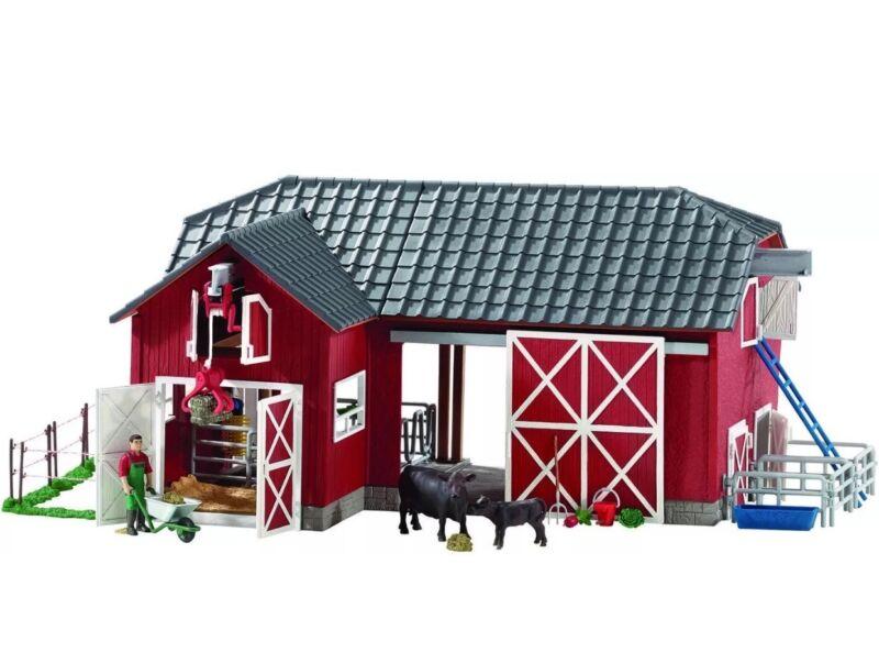 Schleich Big Red Barn Playset