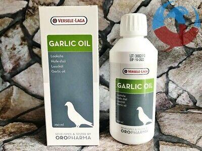 VERSELE LAGA GARLIC OIL 250ml PIGEONS BIRDS CONDITION HEALTH DIGESTION RACING YB