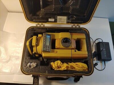 Topcon Gts-312 Surveying Total Station With Tds Topcon Battery And Data Cable