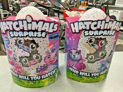 SET OF 2 -Hatchimals Hatching Egg Surprise Toy, Ages 5+