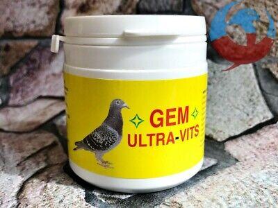 GEM ULTRAVITS 100g PIGEON VITAMINS A B B6 B12 K C E D3 MINERALS SALTS AMINO ACID