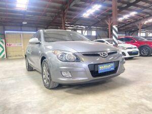 2011 Hyundai i30 FD MY11 SLX Grey 5 Speed Manual Hatchback