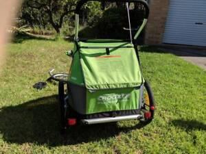 SOLD Croozer for 2 - bike trailer/stroller excellent condition