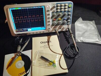 Owon Ds7102v 100mhz 1gsas Oscilloscope With Battery Pack