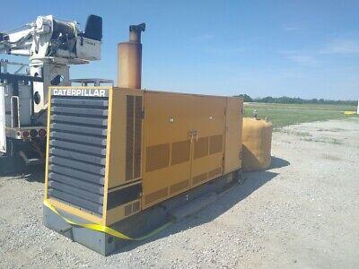 Caterpillar 350-kva Standby Generator With Fuel Storage Tank Clean Unit