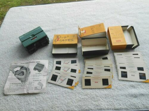 Vintage DAVID WHITE Stereo Realist Viewer & Some Home Slides ~ 3 Box Lot ~ NICE