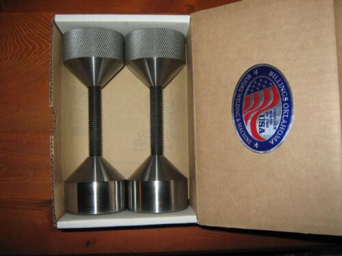 """LARGE WELDERS & FITTERS TWO HOLE FLANGE PINS (2&1/4"""" dia.) Made in USA."""